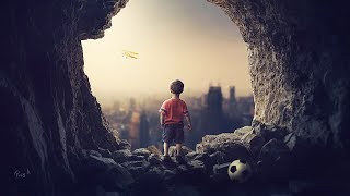 The Cave  Photoshop Manipulation Tutorial Compositing