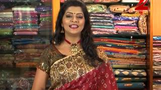 Sampurna – Zee Bangla telecasting 2015 Pujo collection from Indian Silk House Part 2