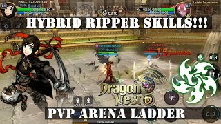 Dragon Nest M: Hybrid Ripper PVP Ladder Skills!!! (Montage)