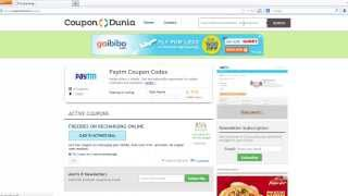 Paytm Coupons - How to Use With CouponDunia