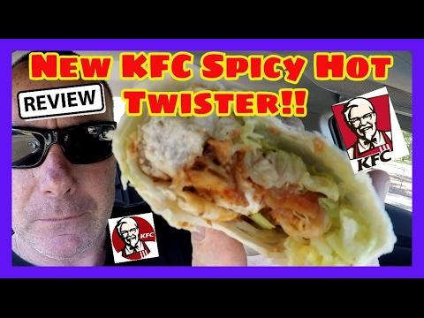 New KFC Spicy Hot Twister!!