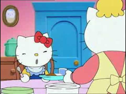 Hello Kitty Les yeux plus gros que le ventre