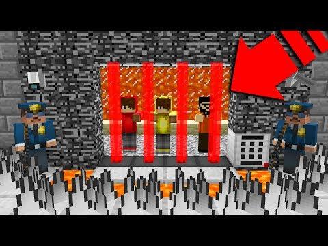 EN ZOR YOUTUBER HAPİSHANE'DEN KAÇIŞ! 😱 - Minecraft