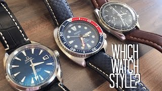 Beginners guide : types of watches