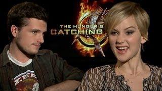 Jennifer Lawrence & Josh Hutcherson's Worst Songs, GIF Faces & Mockingjay Whistle