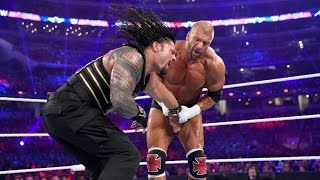 Full Match | Roman Reigns Vs Triple H 2016 | WM 32