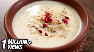 Rice Kheer Recipe | Festive Season Special Recipe | The Bombay Chef - Varun Inamdar