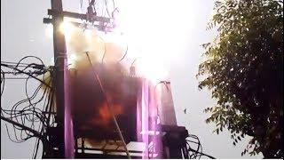 Kompilasi video-video TRAVO PLN terbakar dan meledak