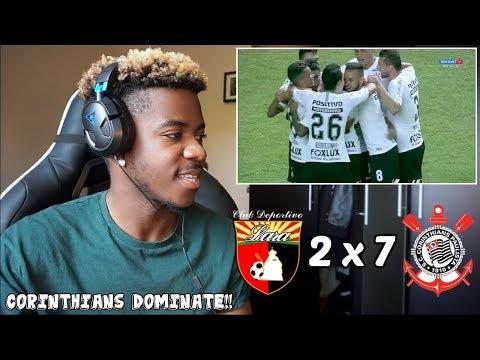 Xxx Mp4 DEPORTIVO LARA 2 X 7 CORINTHIANS Melhores Momentos HD Libertadores 17 05 2018 Reaction 3gp Sex