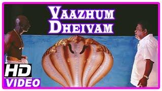 Vaazhum Deivam Tamil Full Movie | Scenes | Nalini doing black magic | Kadhal Dandapani