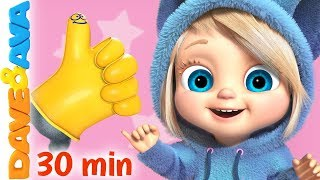 👍 Where is Thumbkin? | Nursery Rhymes and Baby Songs from Dave and Ava 👍