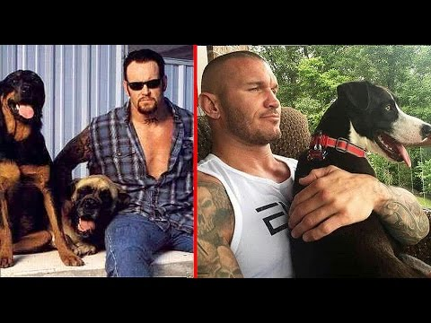 10 Most Shocking WWE Wrestlers Who Have Pets