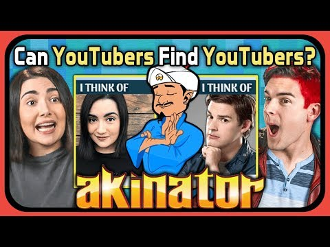 Xxx Mp4 YouTubers Try To Find Themselves In Akinator Safiya Nygaard MatPat React Gaming 3gp Sex