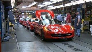 Chevrolet Corvette PRODUCTION