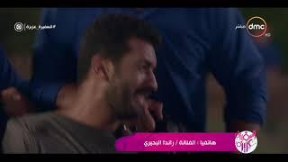 """السفيرة عزيزة - تعليق الفنانة / راندا البحيري على كريم سرور وأدائه في مسلسل """" الأب الروحي """""""