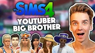 IT'S BACK! | YouTuber Big Brother | Sims 4