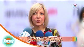 ¡Edith González  sigue luchando contra el cáncer! | Hoy