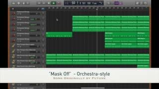 """Mask Off"" - orchestra-style (Song originally by Future) #MaskOffChallenge"