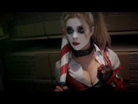 Deadpool & Domino vs Joker & Harley Quinn Super Power BeatDown Deadpool Fandub