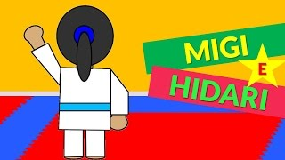 Aula de Japonês - Migi e Hidari (Direita e Esquerda em Japonês) - Judo Infantil | Judoquinhas