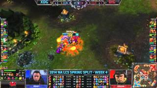 XDG vs DIG - 2014 NA LCS W4D2