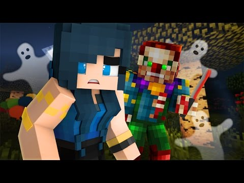 Minecraft Camping - CREEPY KILLER CLOWN!? (Minecraft Roleplay) #2