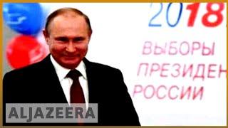 🇷🇺 Expected Putin victory as vote kicks off   Al Jazeera English