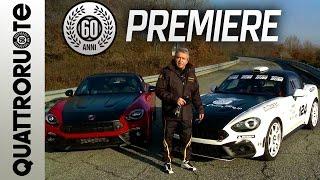 Prova su pista con la Abarth 124 Rally - Exclusive Premiere