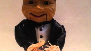 1998 Gemmy Animated Talking Scarecrow Sings