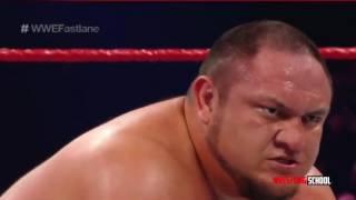 Sami Zayn vs  Samoa Joe - WWE Fastlane 2017 (Full Match)
