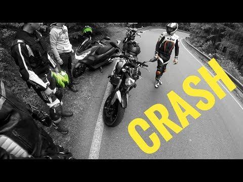 MOTOVLOG #14 - Trénink / Olej v zatáčce/ Yamaha CRASH