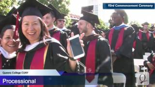 Queens College Commencement 2017