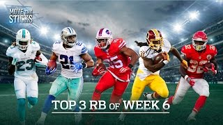 Top 3 Running Backs of Week 6 | Move the Sticks | NFL Network