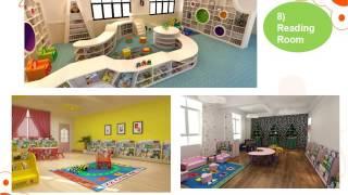 Cowboy Kindergarten School Furniture and Playground Equipment Presentation