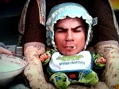 iCarly bebe spencer papilla de pescado Español latino