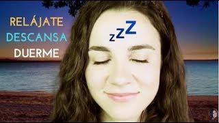ASMR español 💤  Meditación guiada para dormir o relajarse 🌊 🌅  ATARDECER EN LA PLAYA