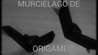 MURCIELAGO de Papel ORIGAMI (voz)