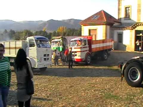 Camiones clásicos en El Barco de Avila