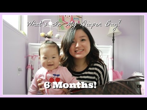 Updated What's In My Diaper Bag (6 Month Old)♡