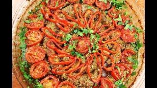 كباب اللحم في الفرن بطريقة تركية  سهلة و سريعة التحضير لذيذة في المذاق مع رباح محمد ( الحلقة 505 )