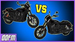 2017 Harley-Davidson Street Rod vs Harley Street 750 / Harley Street Rod Specs