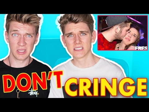 TRY NOT TO CRINGE CHALLENGE Collins Key React