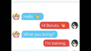 Boruto and Sarada part 2😱😉