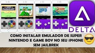 Como instalar Emulador de SNES e Game Boy no iPhone - Sem Jailbreak