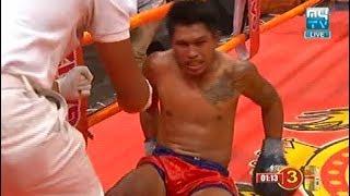 Meas Chanmean vs Lumnav(thai), Khmer Boxing MY TV 19 Jan 2018, Kun Khmer vs Muay Thai