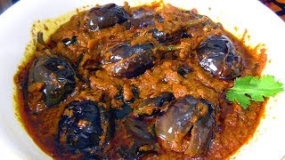 Gutti vankaya recipi// stuffed brinjal curry/ south indian recipe gutti vankaya curry/gutt ivankaya