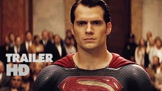 Batman v Superman Dawn of Justice Official Film Trailer 2016 - Ben Affleck, Henry Cavill Movie HD
