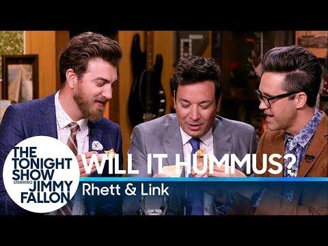 Will It Hummus with Jimmy Fallon Rhett & Link Good Mythical Morning