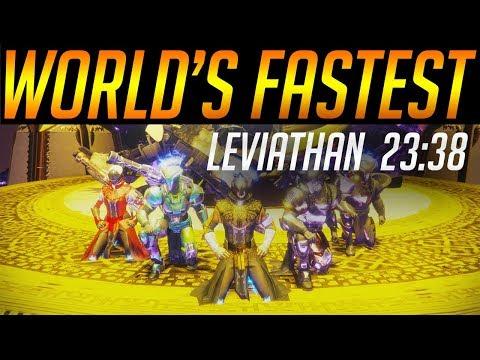 Xxx Mp4 Destiny 2 World39s Fastest Leviathan Raid 2338 By Euros 3gp Sex
