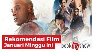 Rekomendasi Film Januari Minggu Ketiga Januari 2017 - BookMyShow Indonesia